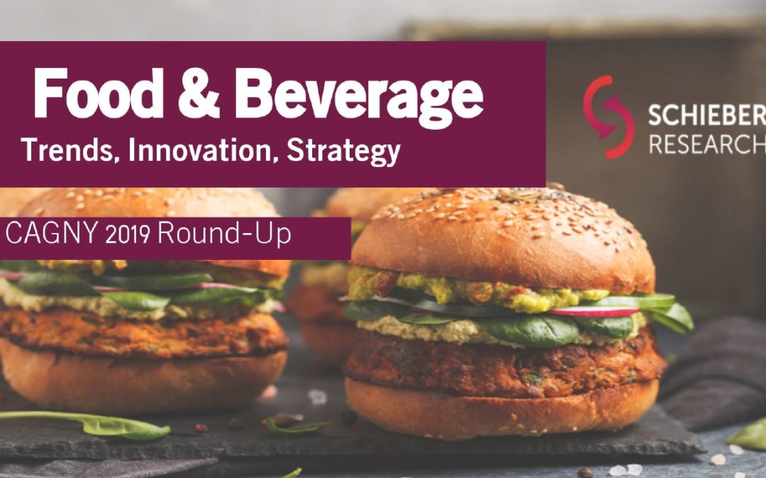 CAGNY 2019: Food & Beverage Trends