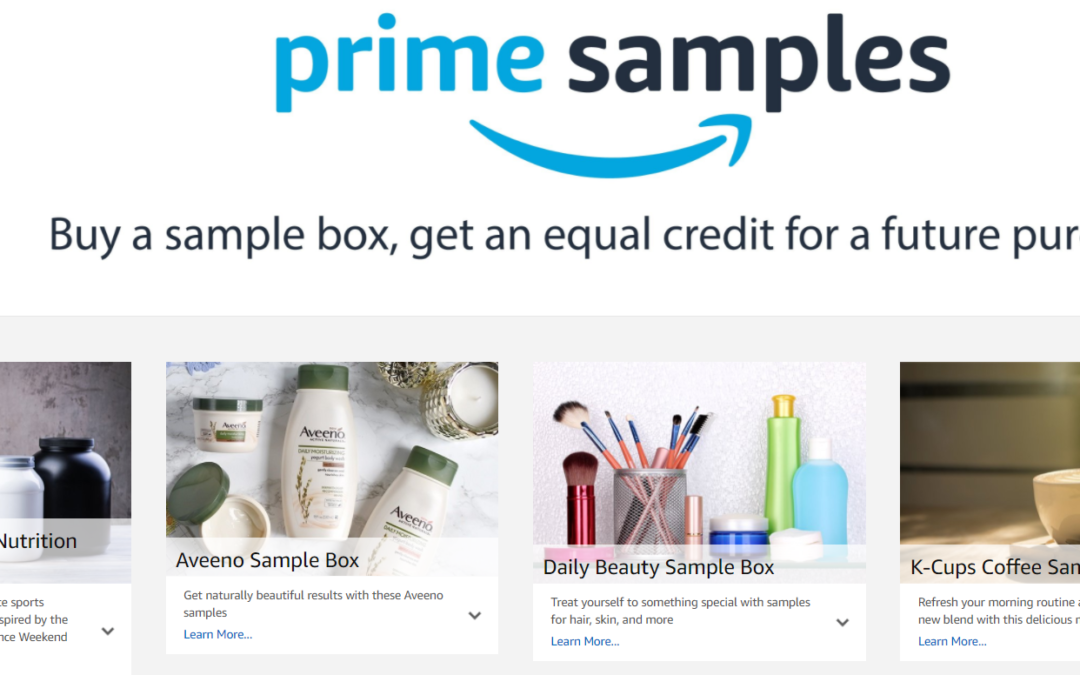 Marketing Innovation: Amazon's Sample Boxes